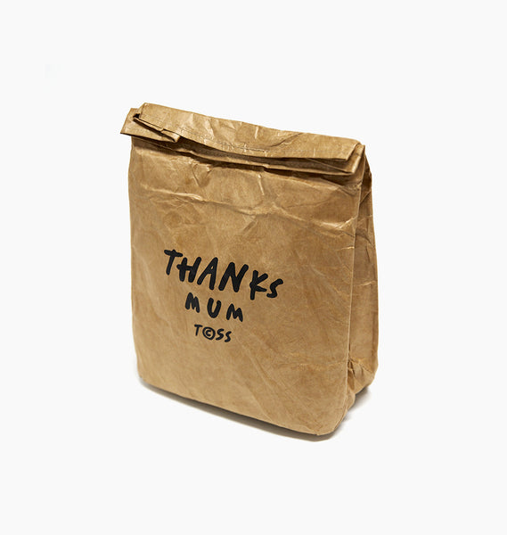 THANKS MUM LUNCH BAG - PAPER