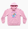 MERMAID BEACH HOOD - CANDY PINK