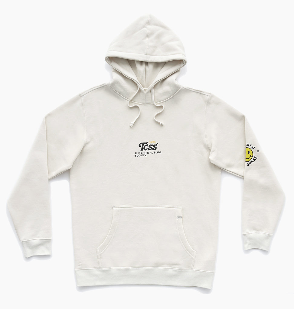 NO-FI HOODY - DIRTY WHITE