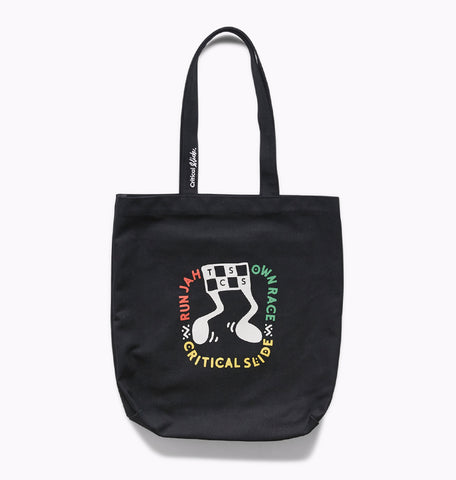 OWN RACE TOTE - BLACK