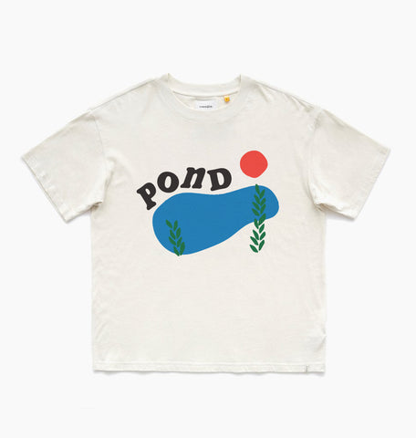 POND TEE - OFF WHITE