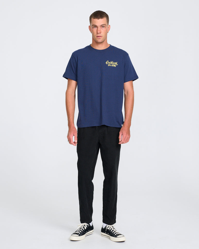 ALL DAY CORD PANT - WASHED BLACK