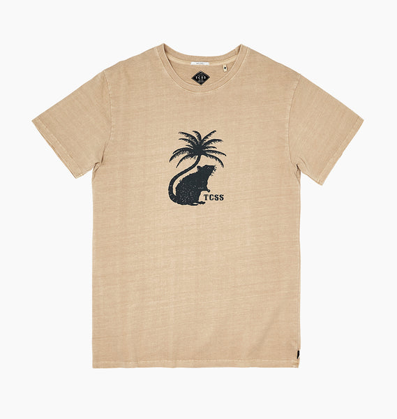 PARATISE TEE - FAWN
