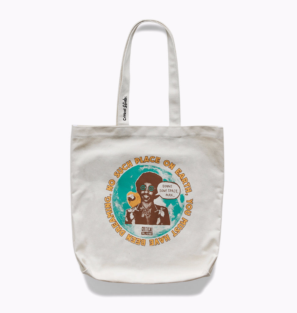 SPACEMAN TOTE - DIRTY WHITE