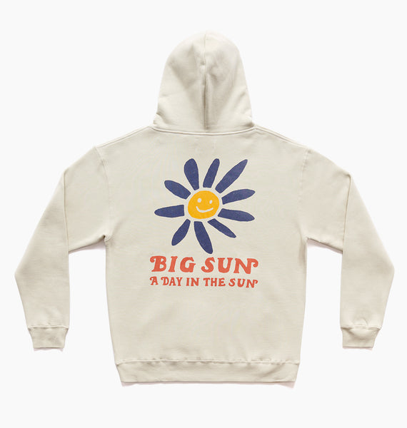 BIG SUN HOODY - OATMEAL