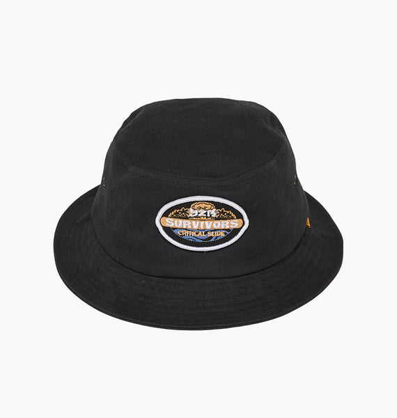 SURVIVORS BUCKET - BLACK