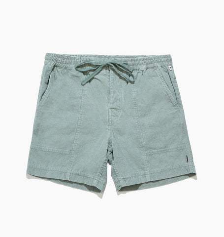 ALL DAY CORD WALKSHORT - SEA MIST