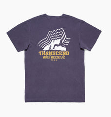 TRANSCEND TEE - CYBER GRAPE