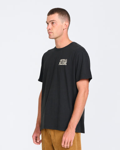 HOUSE OF SLIDE TEE-CRITICAL BLACK
