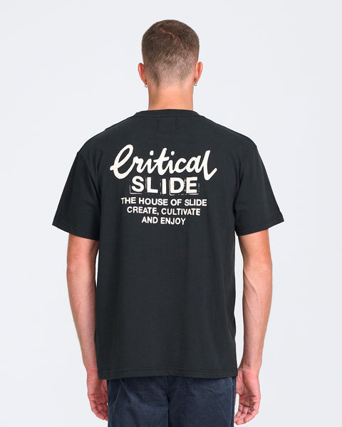 CREATOR TEE - CRITICAL BLACK