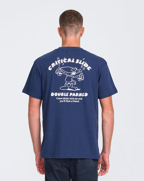 PARKED TEE - WASHED NAVY