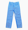 VACATION STRIPE PANT - SKYDIVER BLUE