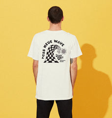NEUE WAVE TEE - WHITE