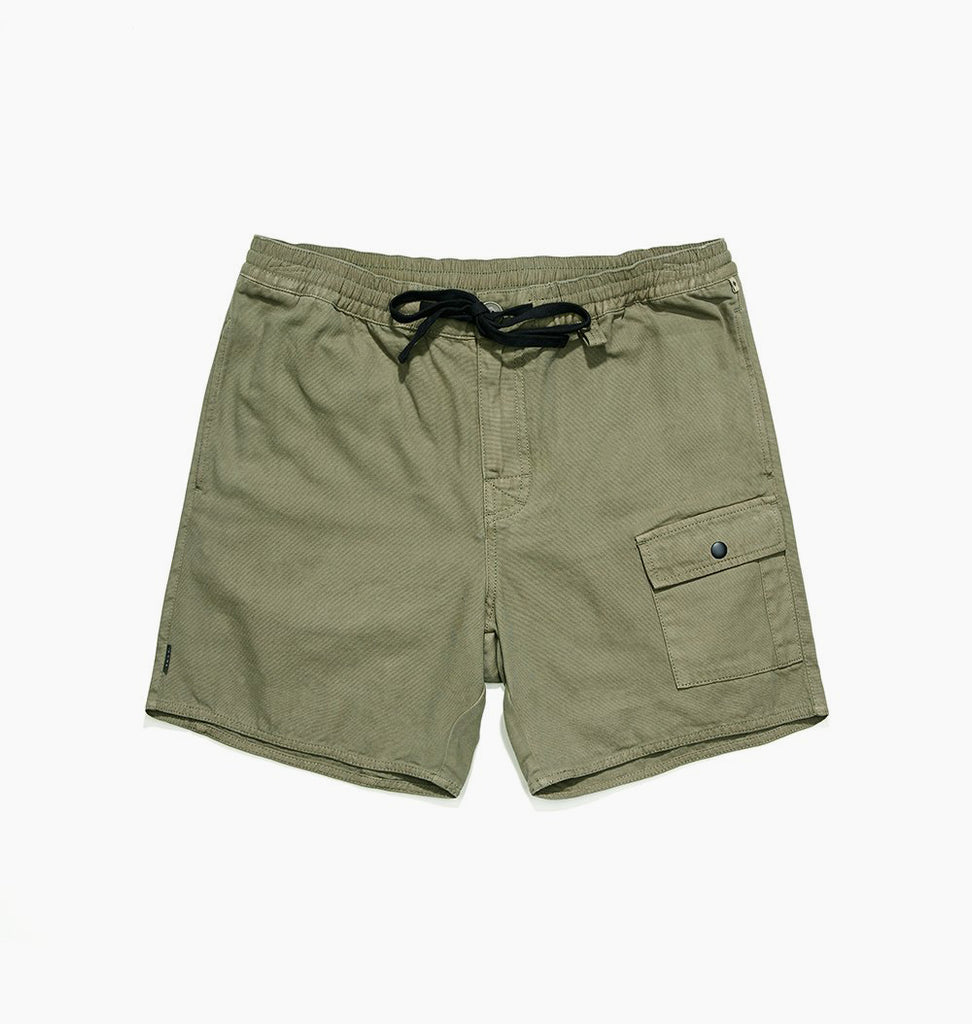 DARCY CANVAS SHORT - FATIGUE