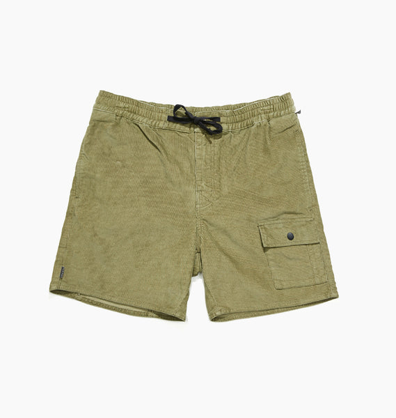 DARCY CORD SHORT - OLIVE