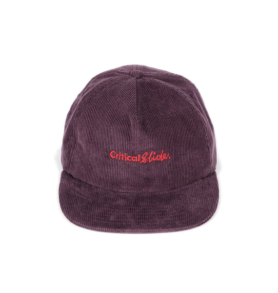 INSTITUTE CAP - DARK PLUM