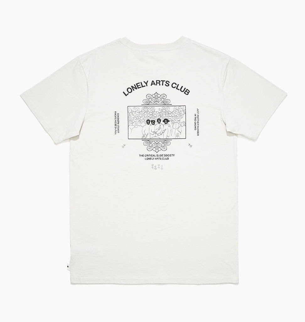 LONELY ARTS TEE - DIRTY WHITE