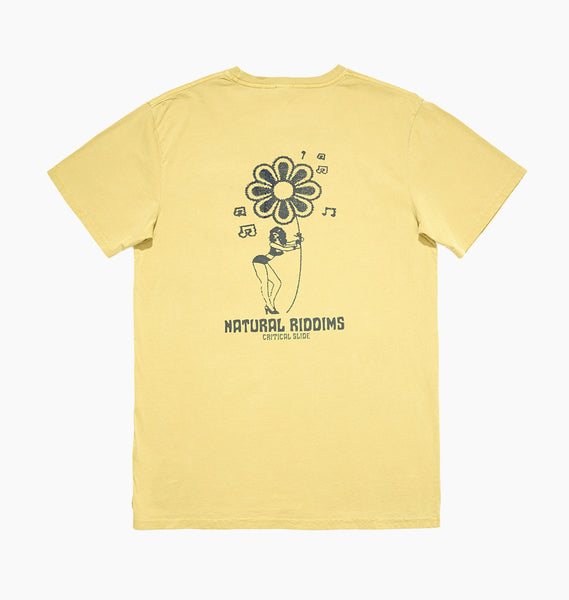 NATURAL RIDDIMS TEE - SUNNY ALE
