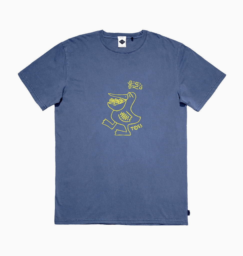 PELI CANS TEE - CHINA BLUE