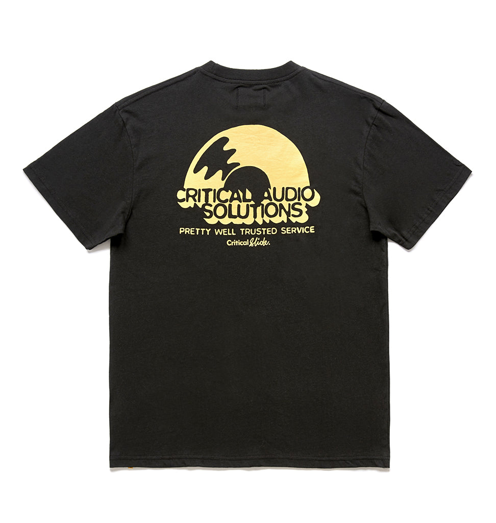 SOLUTIONS TEE - GREEN BLACK