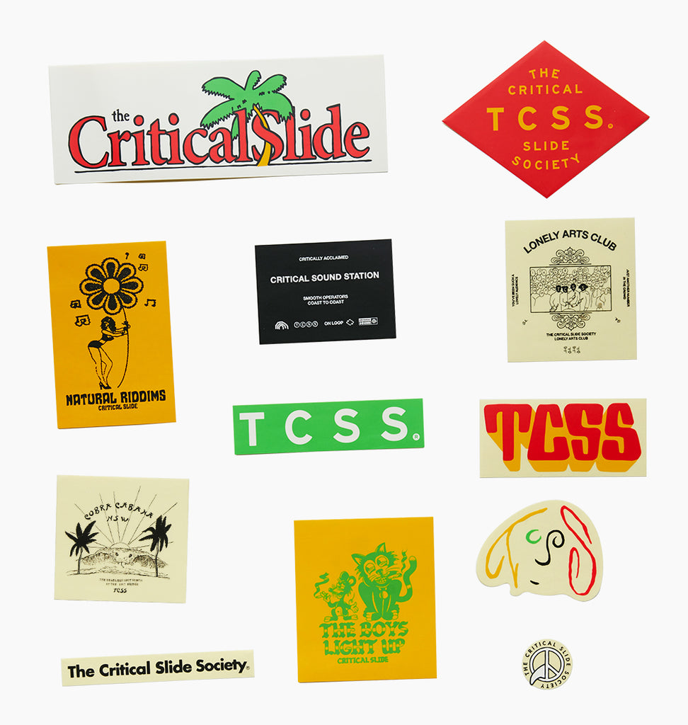 TCSS V8 STICKER PACK