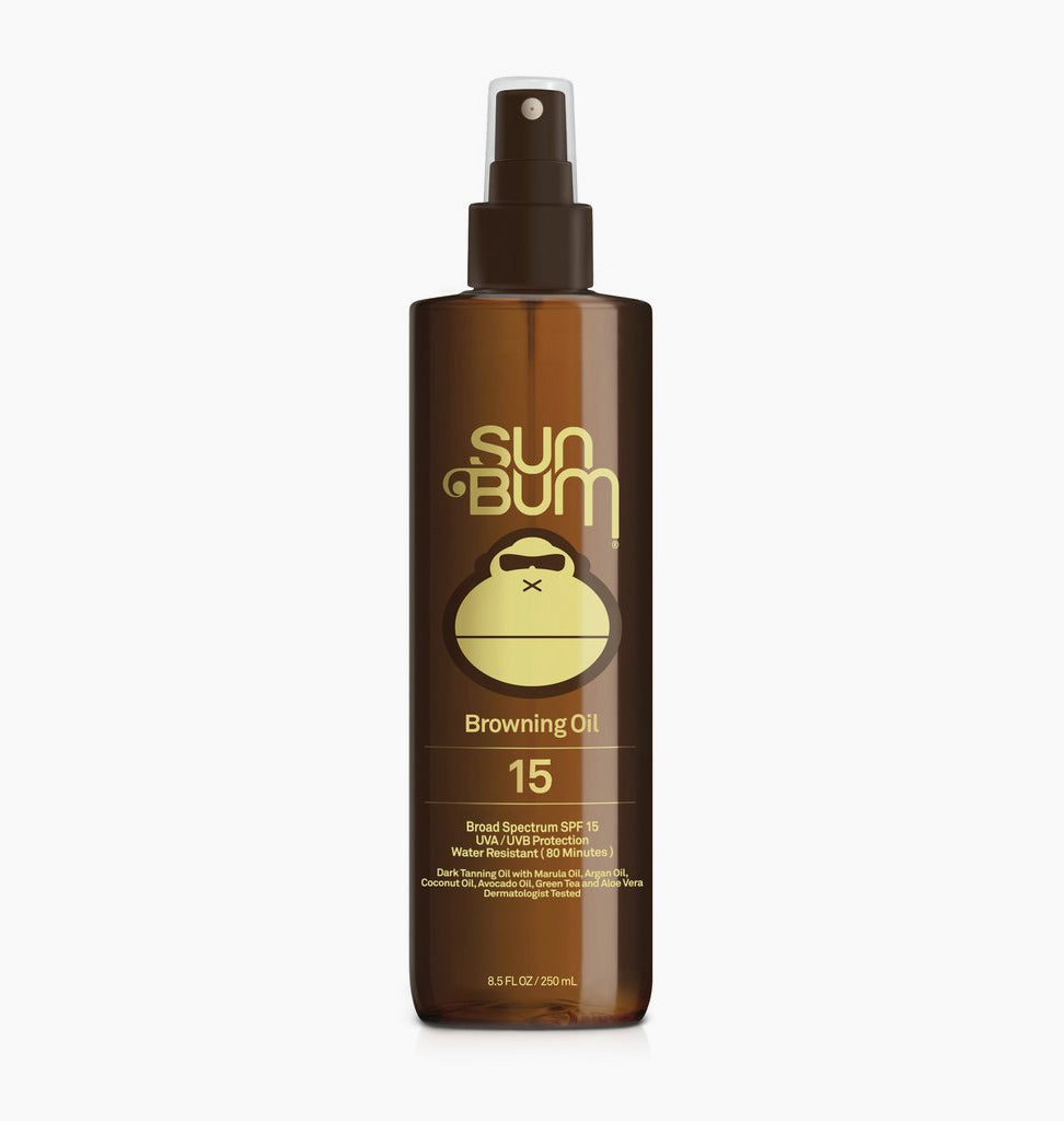 SUN BUM TANNING OIL SPF 15 ASSORTED