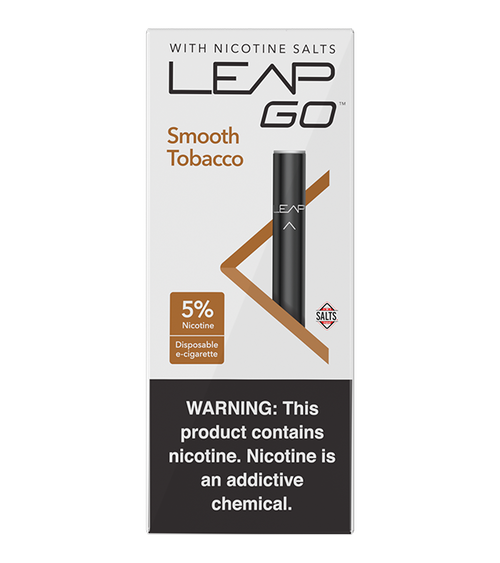 Leap Smooth Tobacco Disposable