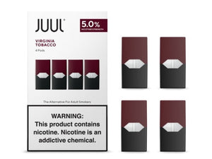 Virginia Tobacco Juul Pod Refills - Online E-CIG & Vape Shop | Buy Juul pods and Juul basic kits online!
