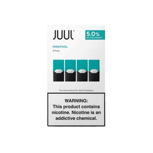 Menthol Juul Pod Refills - Online E-CIG & Vape Shop | Buy Juul pods and Juul basic kits online!