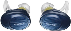 Soundsport Free Bluetooth Headset with Mic  (navy/citron, In the Ear)