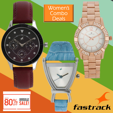 Combo Of 3 Set Watches For Women