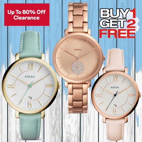 Fossil  Combo of 3 Analog Dial Women's Watches