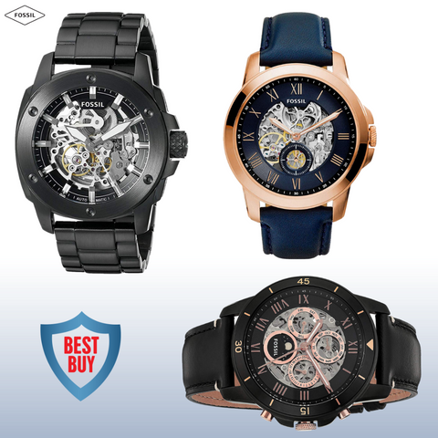 Combo Men's Watches - Pack of 3