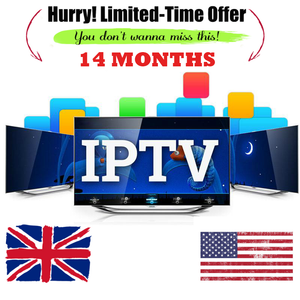 IPTV 14 MONTH SUBSCRIPTION