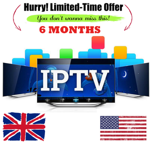 IPTV 6 MONTHS SUBSCRIPTION
