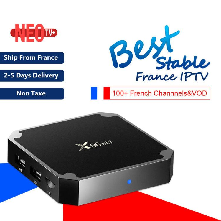 Best French IPTV Box X96 mini Android 9.0