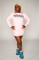 Women's Pastel Lyfestyle Sweater Dress