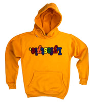 Athletic Gold Multicolor Lyfestyle Hoody