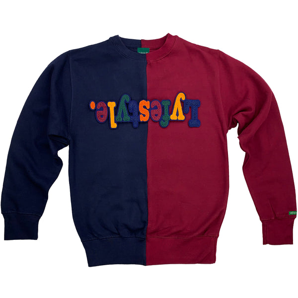 Two-Tone Autumn Lyfestyle Sweatshirt