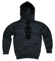 Black Camo Hoodies