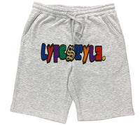 Mixed Multicolor Lyfestyle Shorts