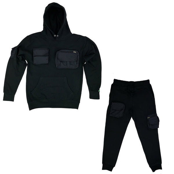 "Black ""Mercenary"" Lyfestyle Sweatsuit"
