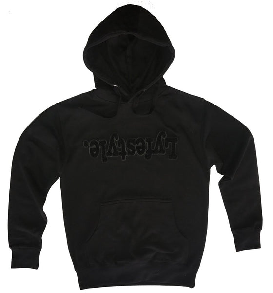 Black on Black Lyfestyle Hoody