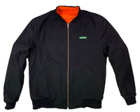 Reversible Neon Orange Construction Zone Jacket