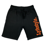 Neon Orange 3M Lyfestyle Shorts