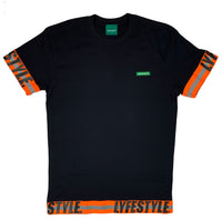 "Neon Orange ""Construction Zone"" Tee"