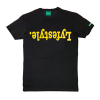 Yellow Metallic Lyfestyle Tees