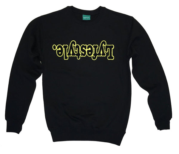 Black w/ Yellow Lyfestyle Sweatshirt