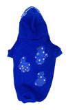 Royal Blue Bandana Lyfestyle Dog Hoody