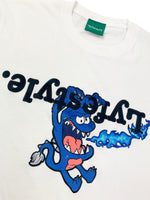 """Blue Monster"" Lyfestyle Tee"